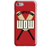 Cap'n WOW iPhone Case/Skin