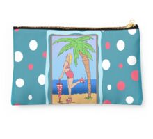 Beach Girl Parasol Studio Pouch