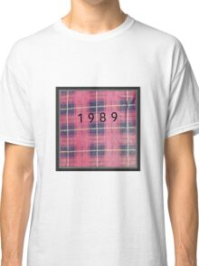 Plaid Red Flannel from 1989 Classic T-Shirt