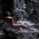 Bliss. Anna at Eureka Waterfalls, Mauritius by JennyRainbow