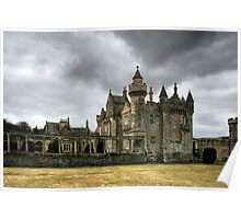 A Storm Brewing over Abbostsford House Poster