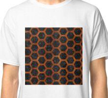 HXG2 BK MARBLE BURL Classic T-Shirt