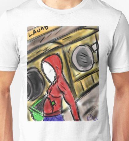 slender Laundry day  Unisex T-Shirt
