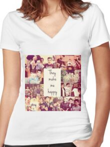 O2L Our 2nd Life Women's Fitted V-Neck T-Shirt