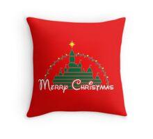 Merriest Christmas on earth Throw Pillow