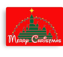 Merriest Christmas on earth Canvas Print