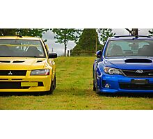 Rally Rivals Photographic Print