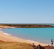 Broome Roebuck Bay  # 2 Western Australia  by Virginia  McGowan