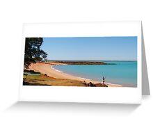 Broome Roebuck Bay  # 2 Western Australia  Greeting Card