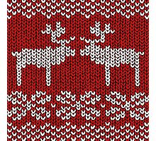 Reindeer Christmas Jumper Photographic Print