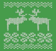 Reindeer Christmas Jumper Kids Tee