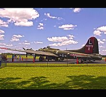 WWII bomber by Mikeb10462