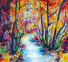 Golden Autumn by Slaveika Aladjova