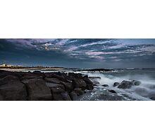 Port Fairy on the rocks Photographic Print