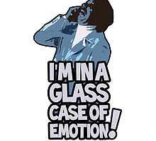 Ron Burgundy - Glass Case of Emotion iPhone Case by zaknorris5