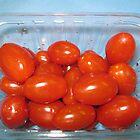 Take one! Ripe Cherry Tomatoes by MidnightMelody