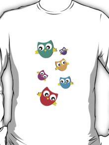 Owls # 3 T-Shirt
