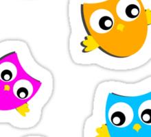 Owls # 3 Sticker