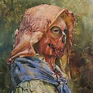 Zombie in Repose by David Irvine