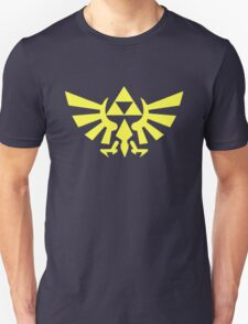 Zelda - Triforce (Yellow) Unisex T-Shirt
