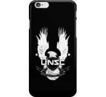 UNSC Logo White iPhone Case/Skin