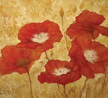 POPPIES by Alex Levin