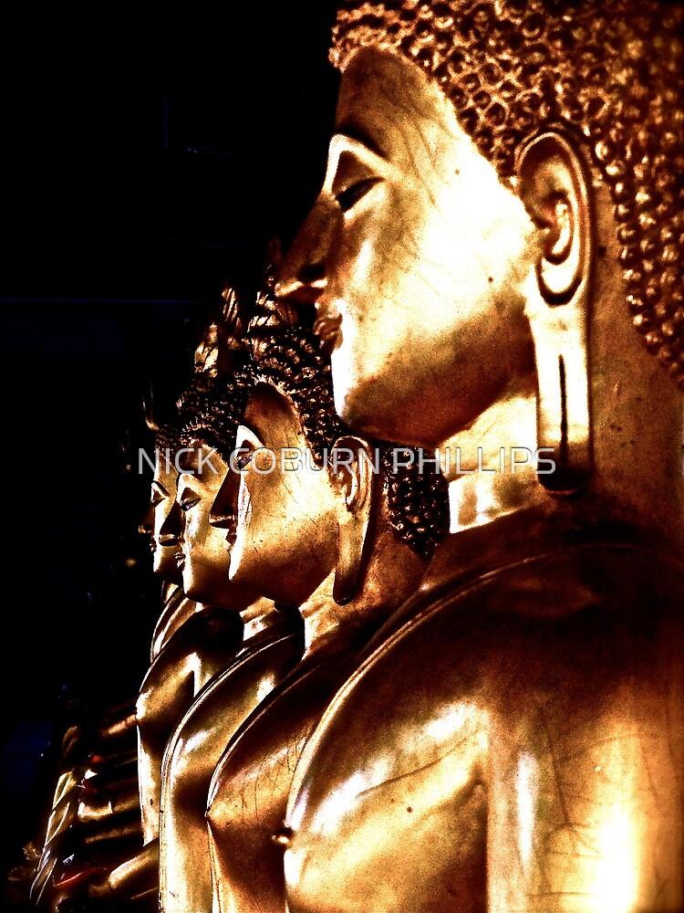 BUDDHA BUDDHA BUDDHA by NICK COBURN PHILLIPS