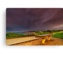 """""""A Seat In A Storm"""" Canvas Print"""