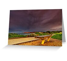 """A Seat In A Storm"" Greeting Card"