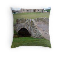 St Andrews Scotland Throw Pillow