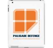 Palisade Defence Corporate Retreat 2006 iPad Case/Skin