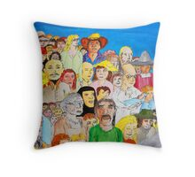 The day the world united as one Throw Pillow