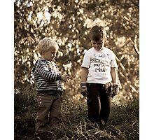 The boys Photographic Print