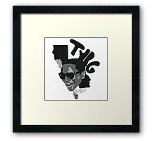 Lil B The BasedGod Portrait Framed Print