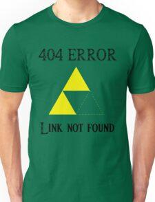 404 - Link not found (A) Unisex T-Shirt