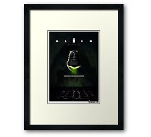 ALIEN THE DALEK CUT Framed Print