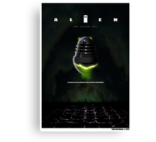 ALIEN THE DALEK CUT Canvas Print