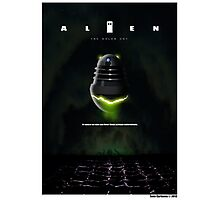 ALIEN THE DALEK CUT Photographic Print