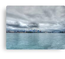 Sydney From The Water Canvas Print