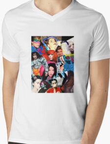 Björk Mens V-Neck T-Shirt