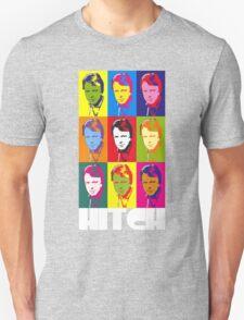 Christopher Hitchens - poster boy of atheism? (dark) Unisex T-Shirt