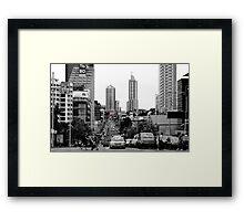 Sydney city Framed Print