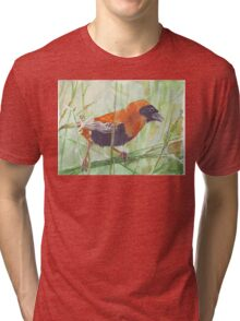 The Red Bishop 1 Tri-blend T-Shirt