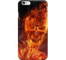 Flaming Skull iPhone Case/Skin