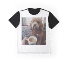 Coffee and dogs, nothing better Graphic T-Shirt