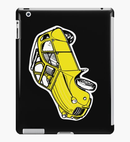 2CV CITROEN IPAD CASE BLACK iPad Case/Skin