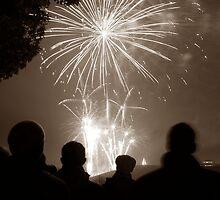 Fireworks, Campbell Park, Milton Keynes, England, UK * by Justin Mitchell