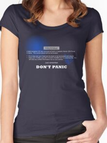 Hitchhiker's Error V2 Women's Fitted Scoop T-Shirt