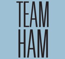 Team Ham (Light BG) One Piece - Short Sleeve