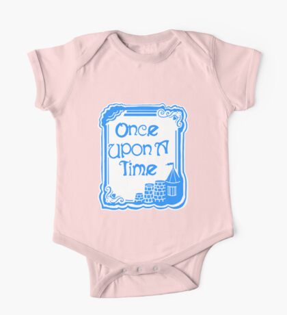 Once Upon A Time in Blue One Piece - Short Sleeve